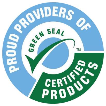 We Proudly Use Green Seal Certified Products!
